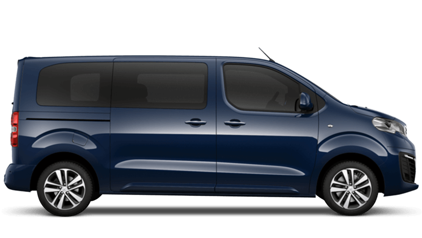 Dragoon Blue Peugeot Traveller