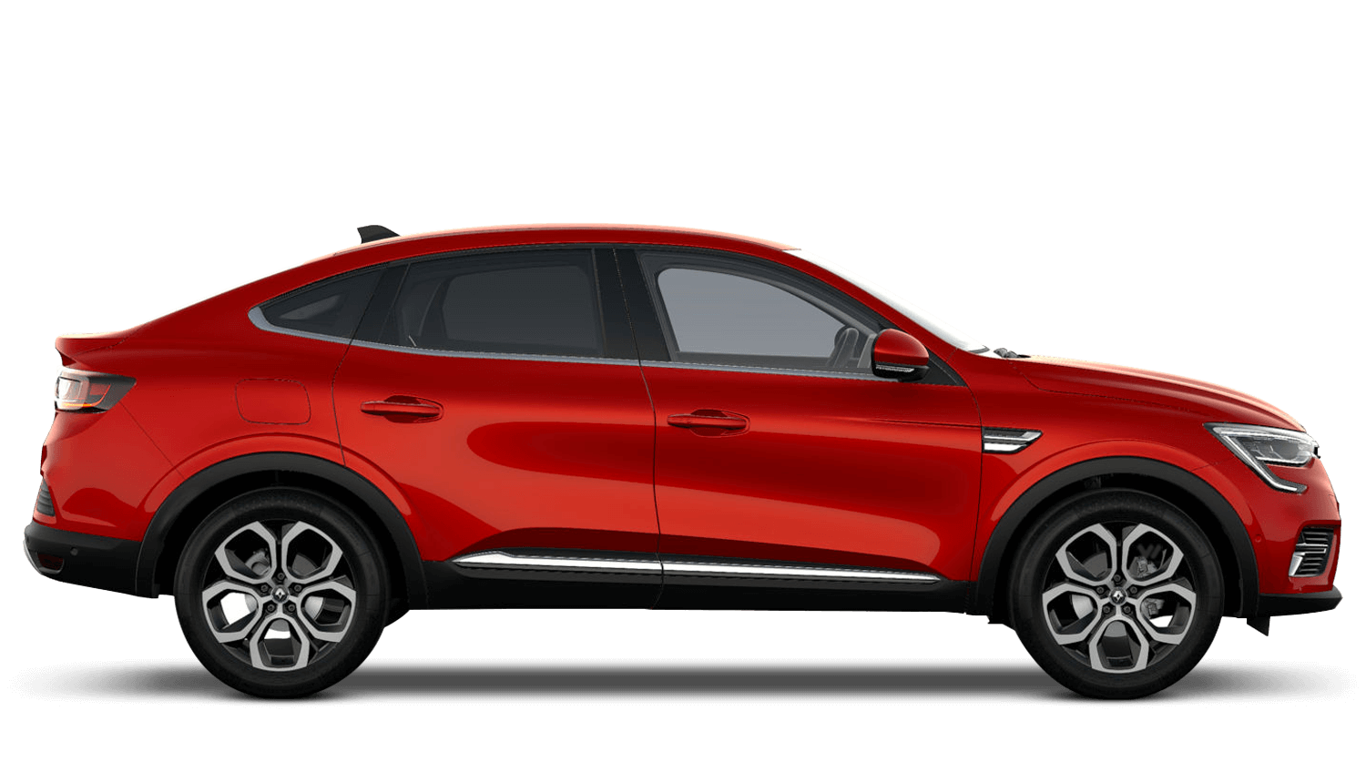 Flame Red All-New Renault Arkana