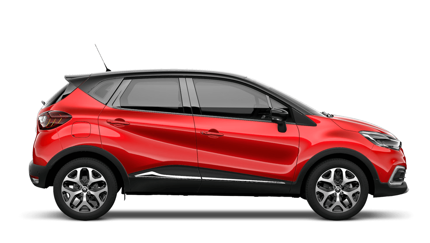 Flame Red with Diamond Black roof Renault CAPTUR