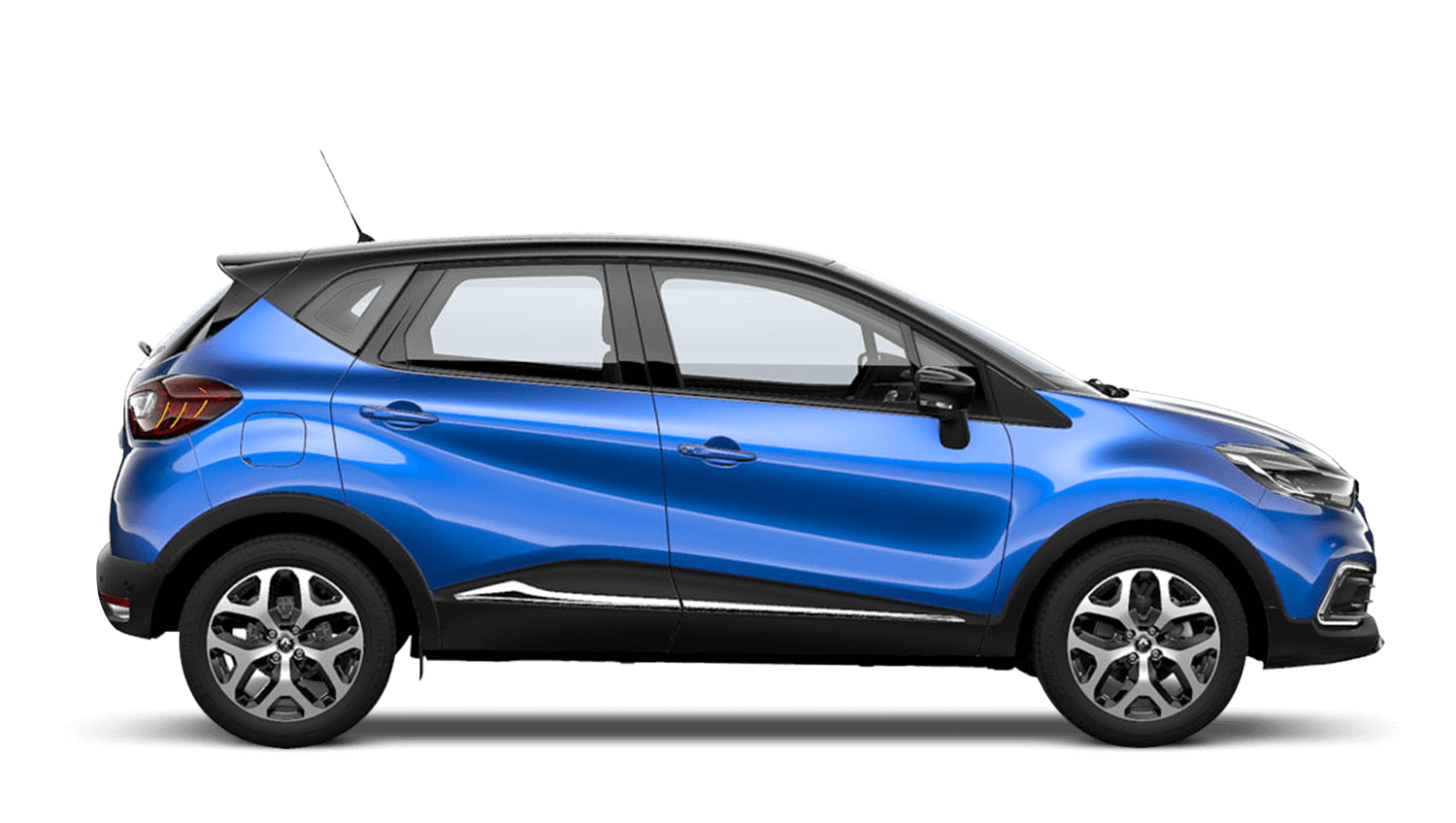Iron Blue with Diamond Black Roof Renault CAPTUR