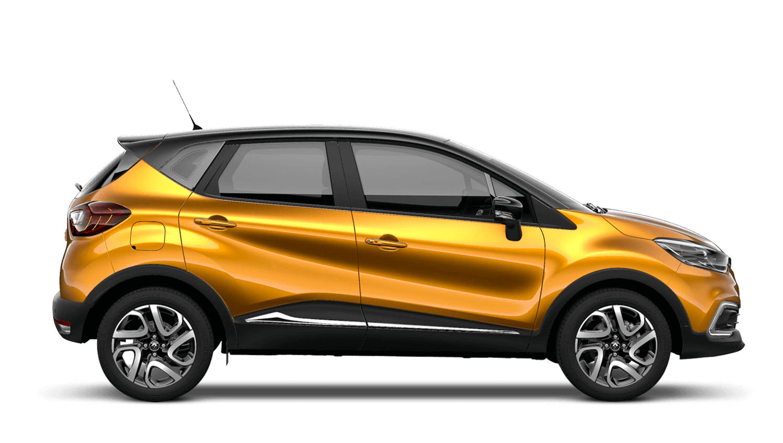Desert Orange with Diamond Black roof Renault CAPTUR