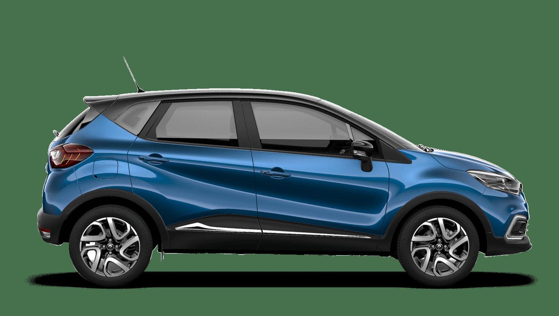 Ocean Blue with Diamond Black roof Renault CAPTUR