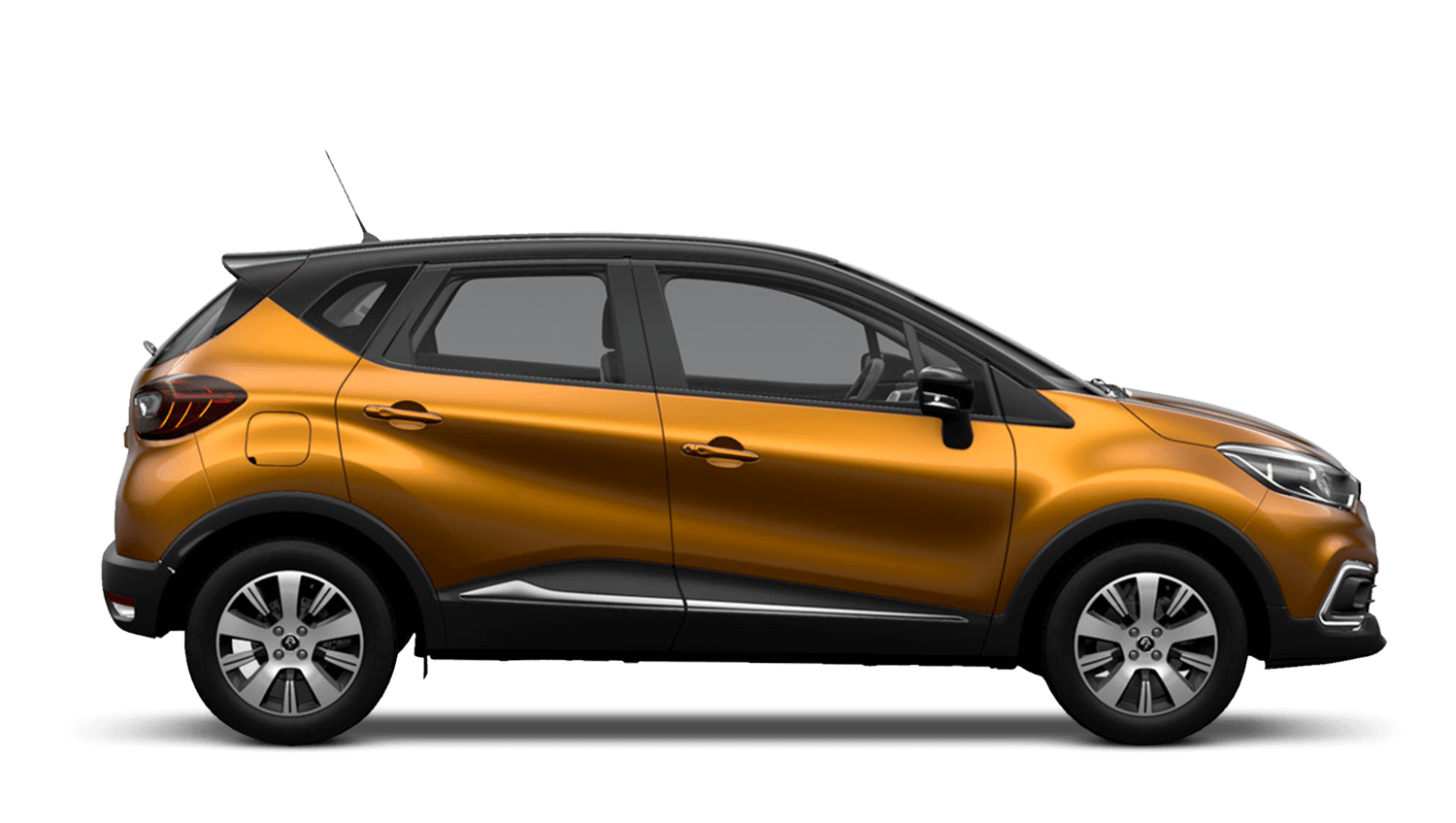 Desert Orange with Diamond Black roof Renault CAPTUR