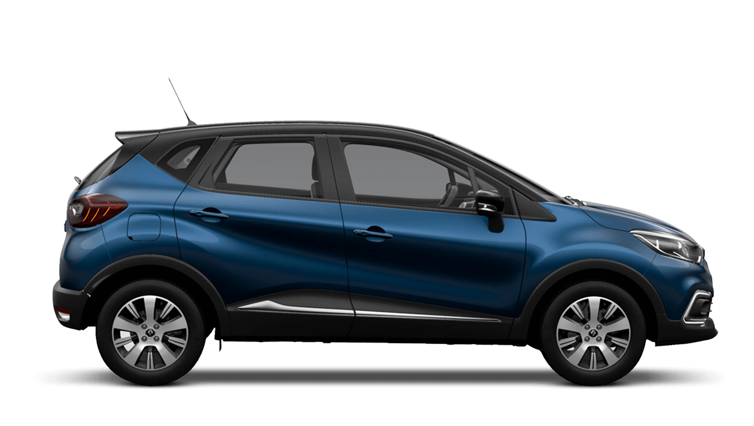 Ocean Blue with Diamond Black roof Renault CAPTUR