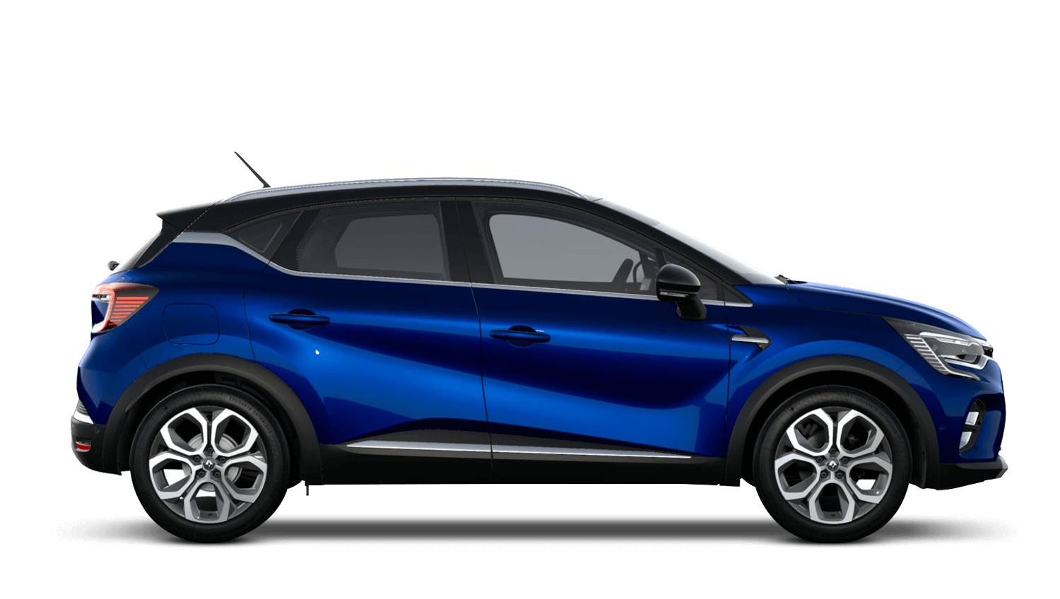 Iron Blue with Diamond Black Roof All-New Renault CAPTUR