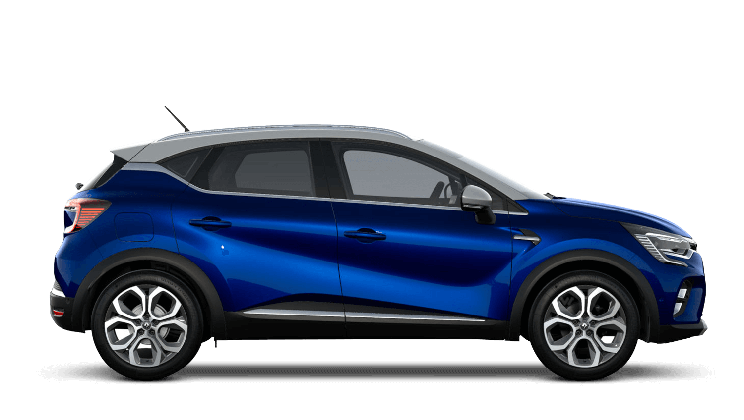 Iron Blue with Highland Grey Roof All-New Renault CAPTUR