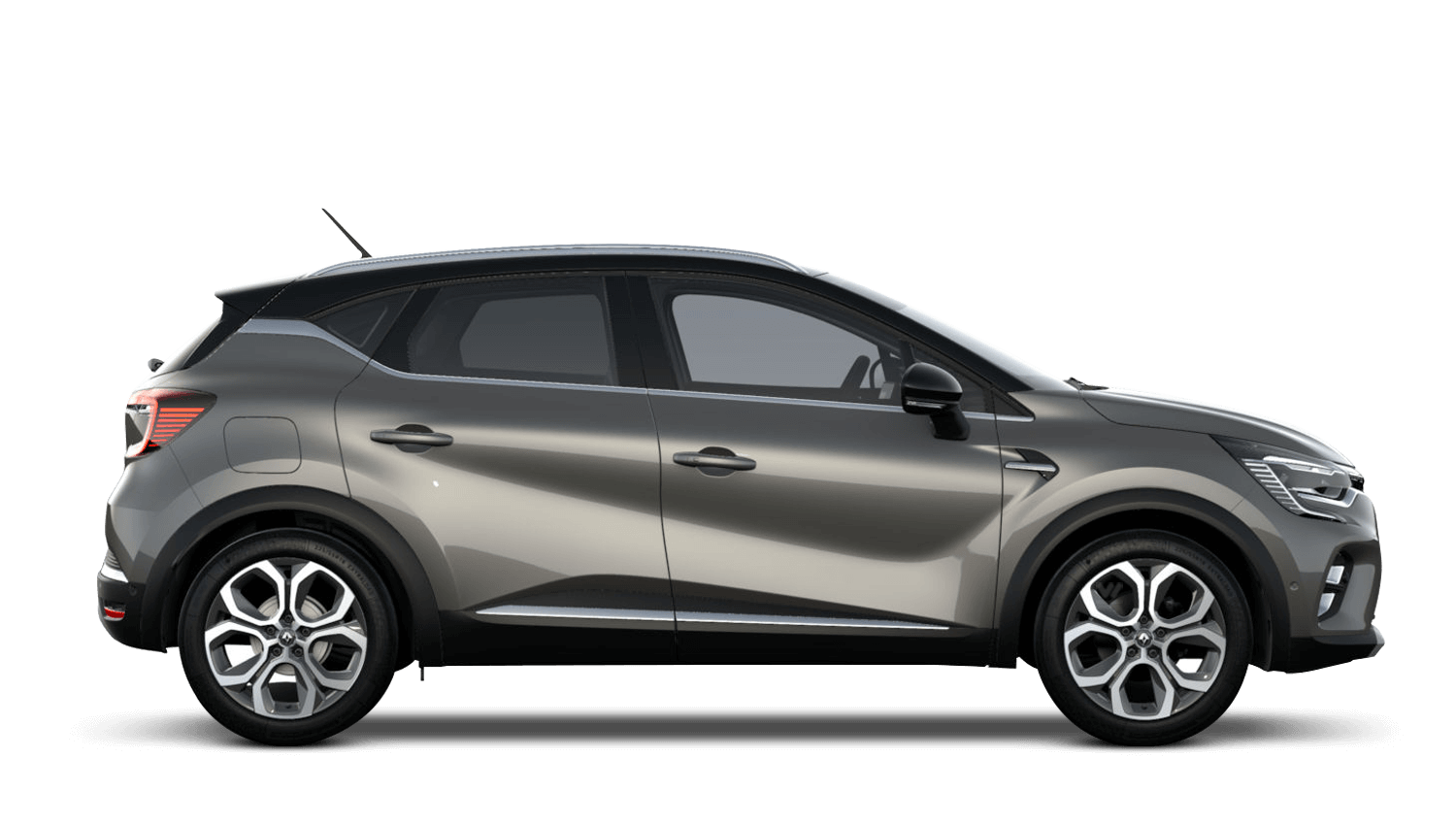 Oyster Grey with Diamond Black Roof All-New Renault CAPTUR