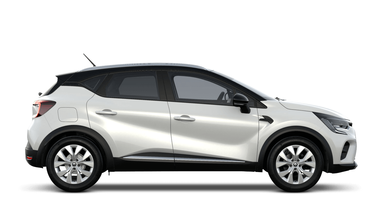 Arctic White with Diamond Black Roof All-New Renault CAPTUR