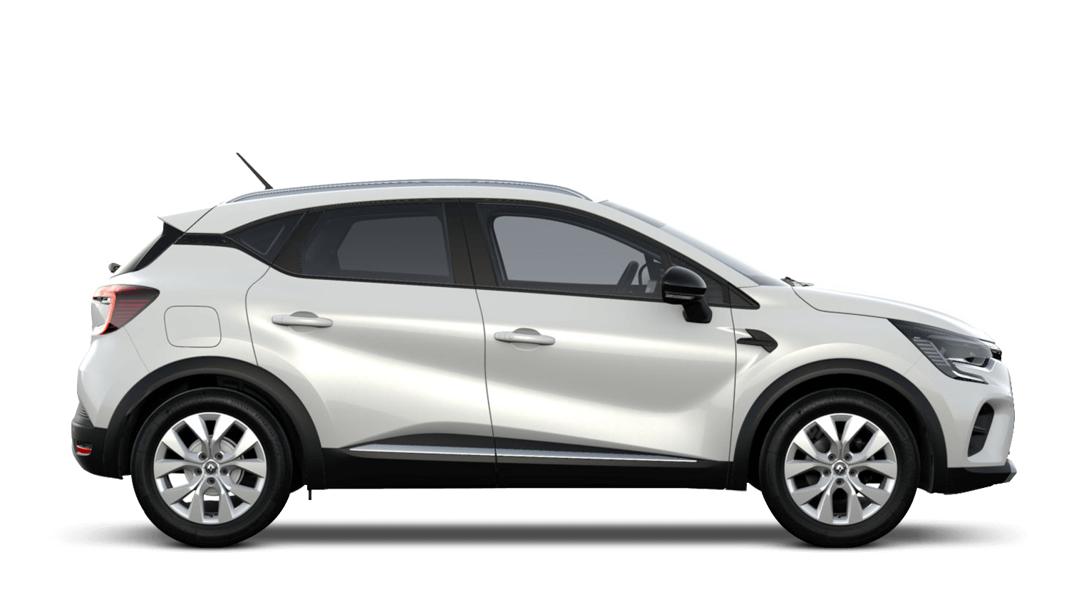 Arctic White All-New Renault CAPTUR