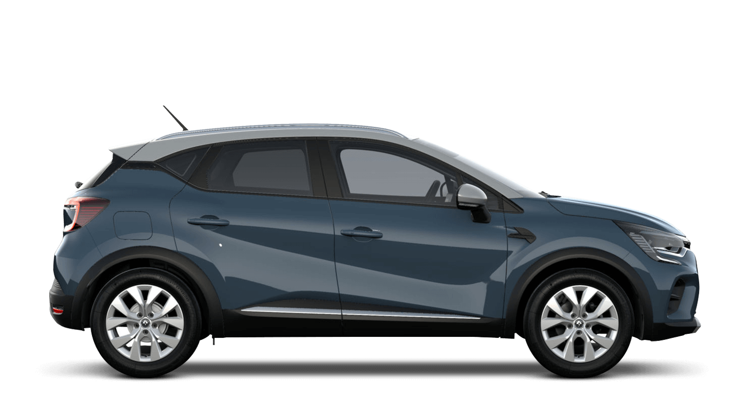 Boston Blue with Highland Grey Roof All-New Renault CAPTUR