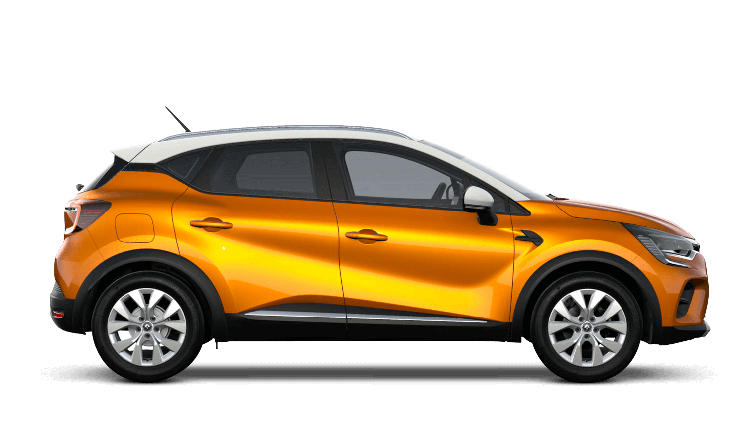 Desert Orange with Alabaster White Roof All-New Renault CAPTUR