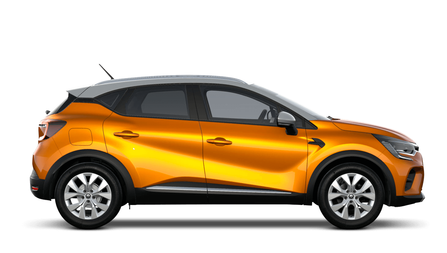 Desert Orange with Highland Grey Roof All-New Renault CAPTUR