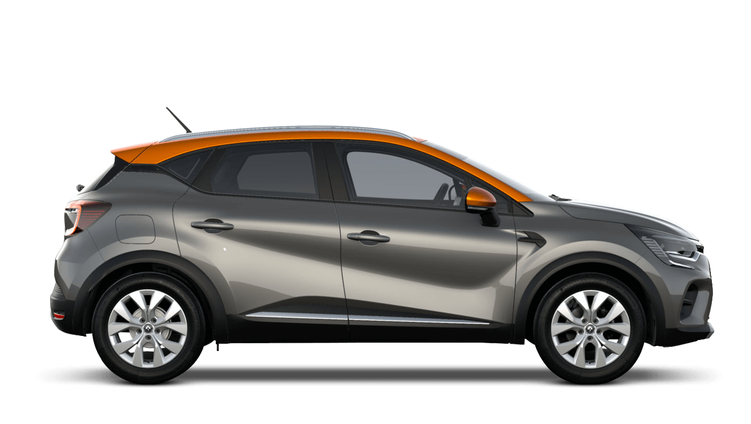 Oyster Grey with Desert Orange Roof All-New Renault CAPTUR
