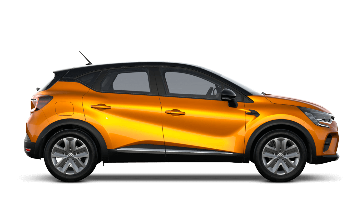 Desert Orange with Diamond Black Roof All-New Renault CAPTUR