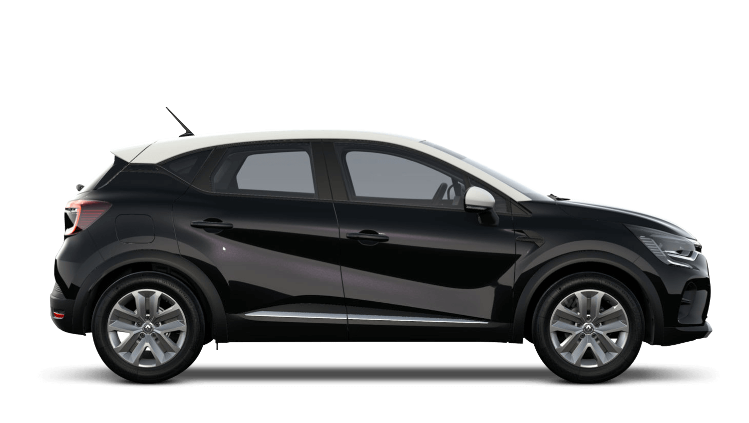 Diamond Black with Alabaster White Roof All-New Renault CAPTUR