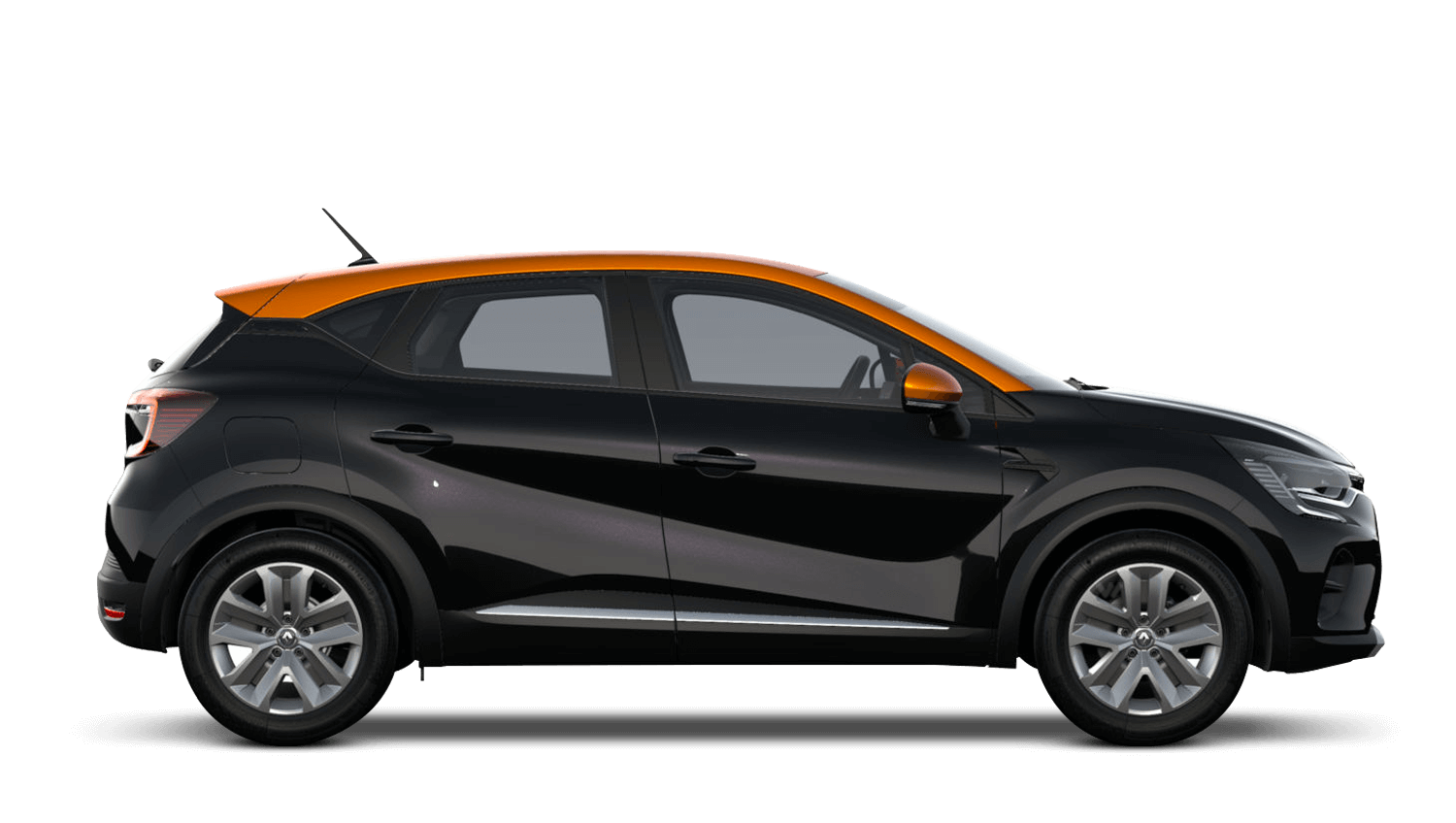 Diamond Black with Desert Orange Roof All-New Renault CAPTUR