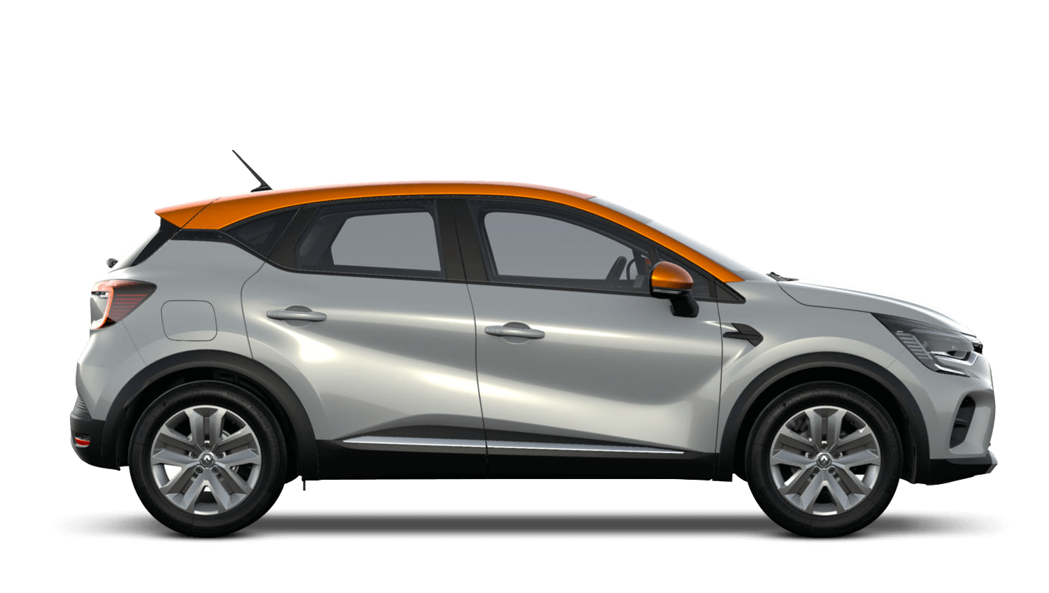Highland Grey with Desert Orange Roof All-New Renault CAPTUR