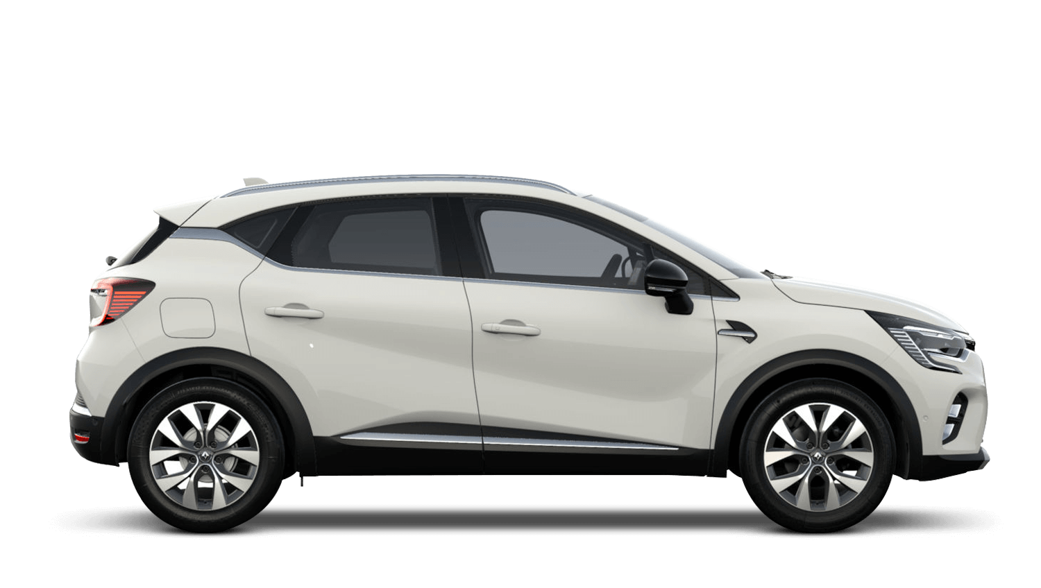 Alabaster White All-New Renault CAPTUR