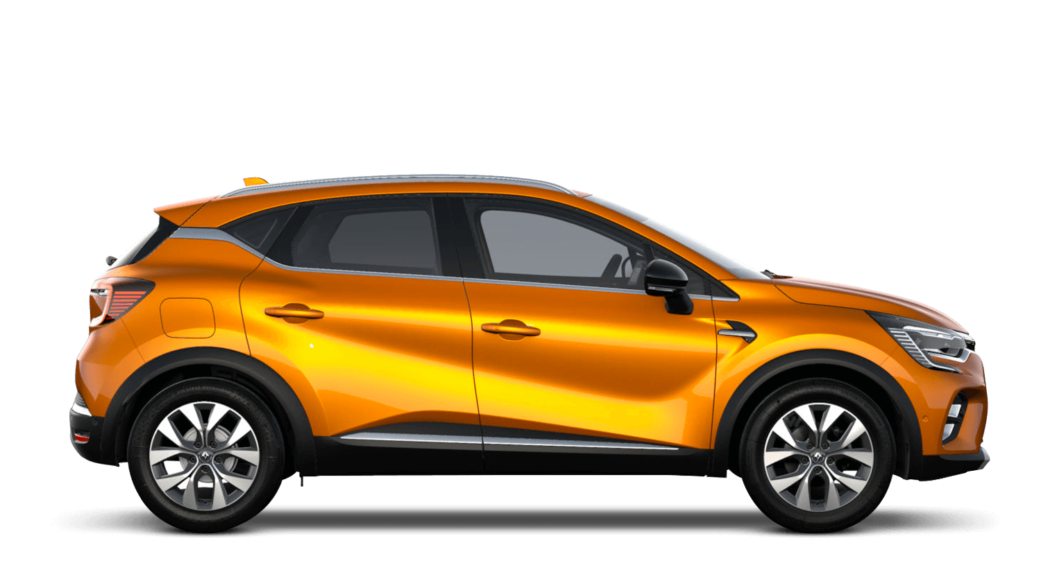 Desert Orange All-New Renault CAPTUR