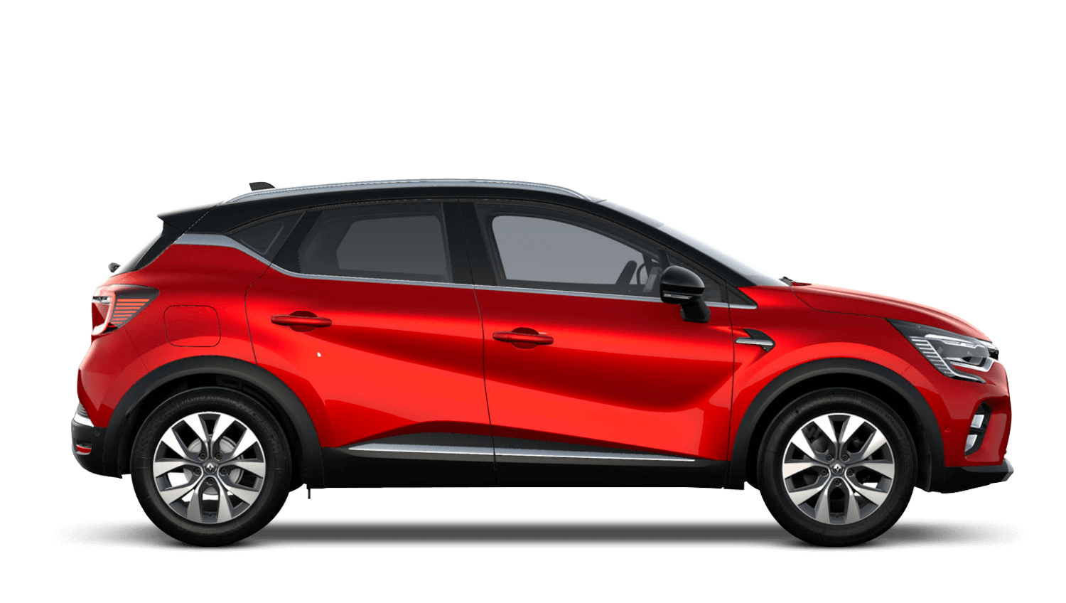 Flame Red with Diamond Black Roof All-New Renault CAPTUR