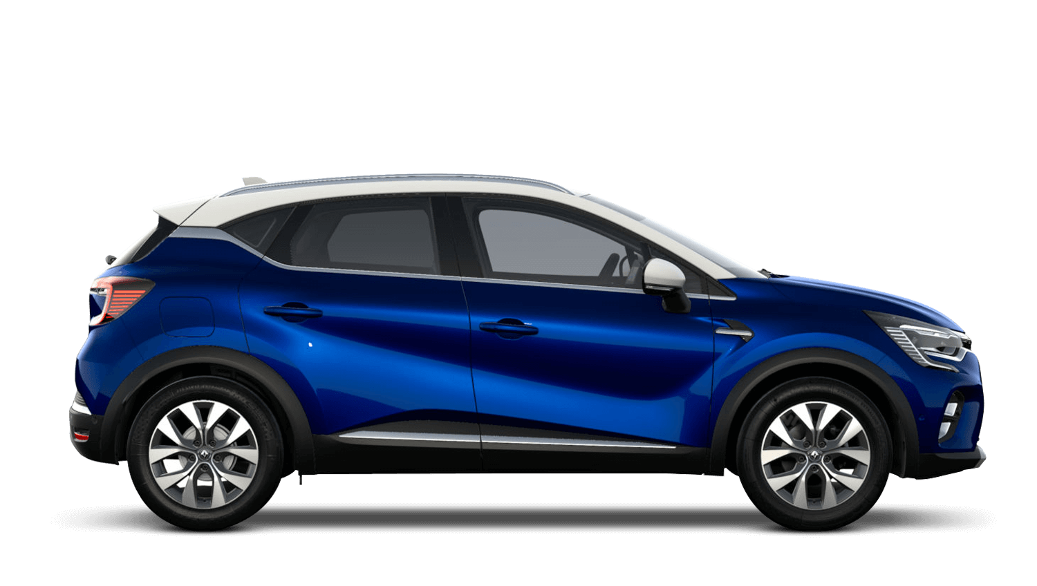 Iron Blue with Alabaster White Roof All-New Renault CAPTUR