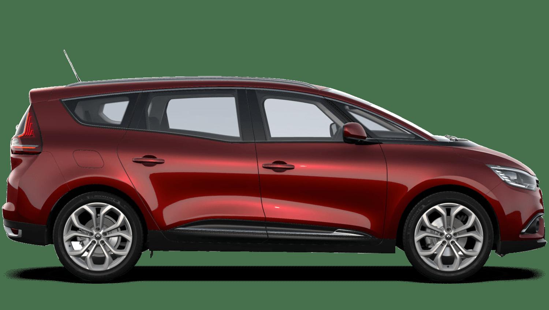 Carmin Red Renault Grand SCENIC