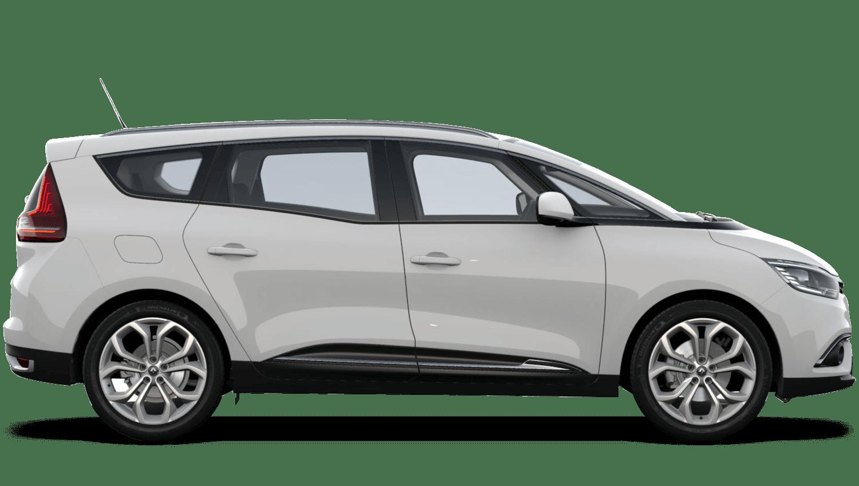 Glacier White Renault Grand SCENIC