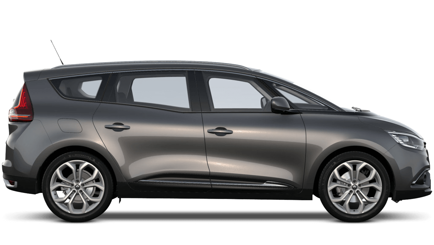 Oyster Grey Renault Grand SCENIC