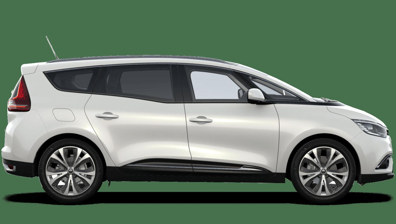 Arctic White Renault Grand SCENIC