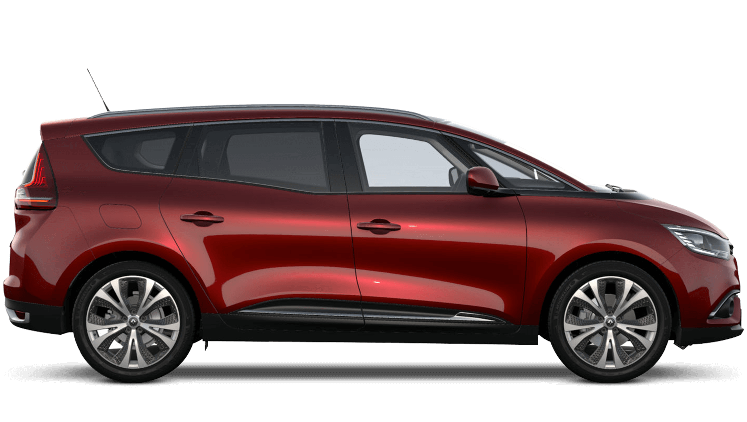 Carmin Red Renault Grand SCENIC