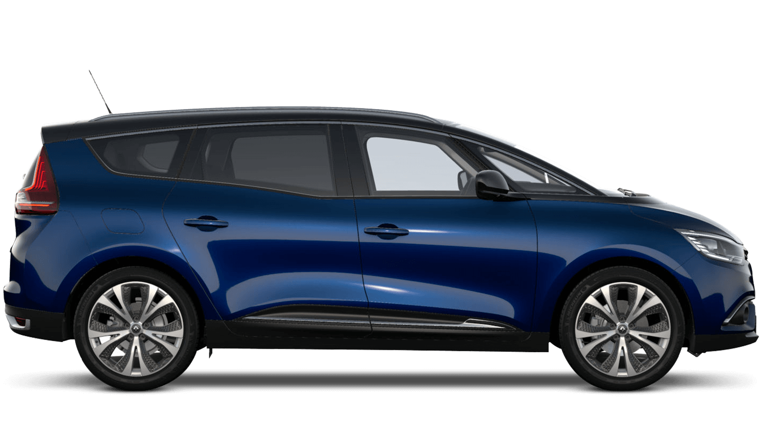 Cosmos Blue with Diamond Black roof Renault Grand SCENIC