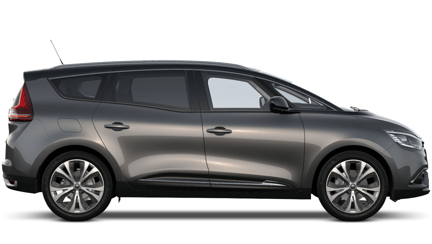 Oyster Grey with Diamond Black roof Renault Grand SCENIC