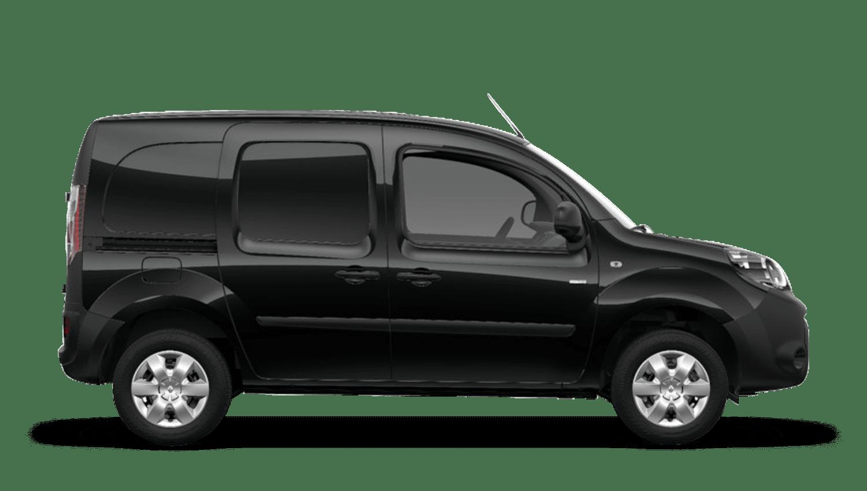 Jet Black Renault Kangoo