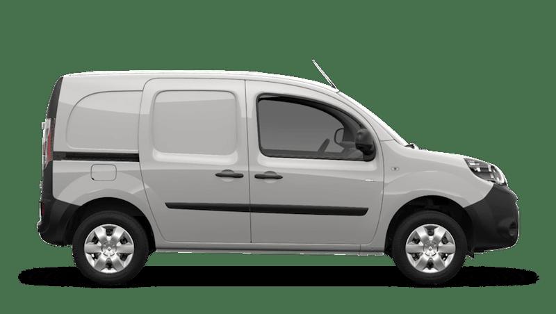Mineral White Renault Kangoo