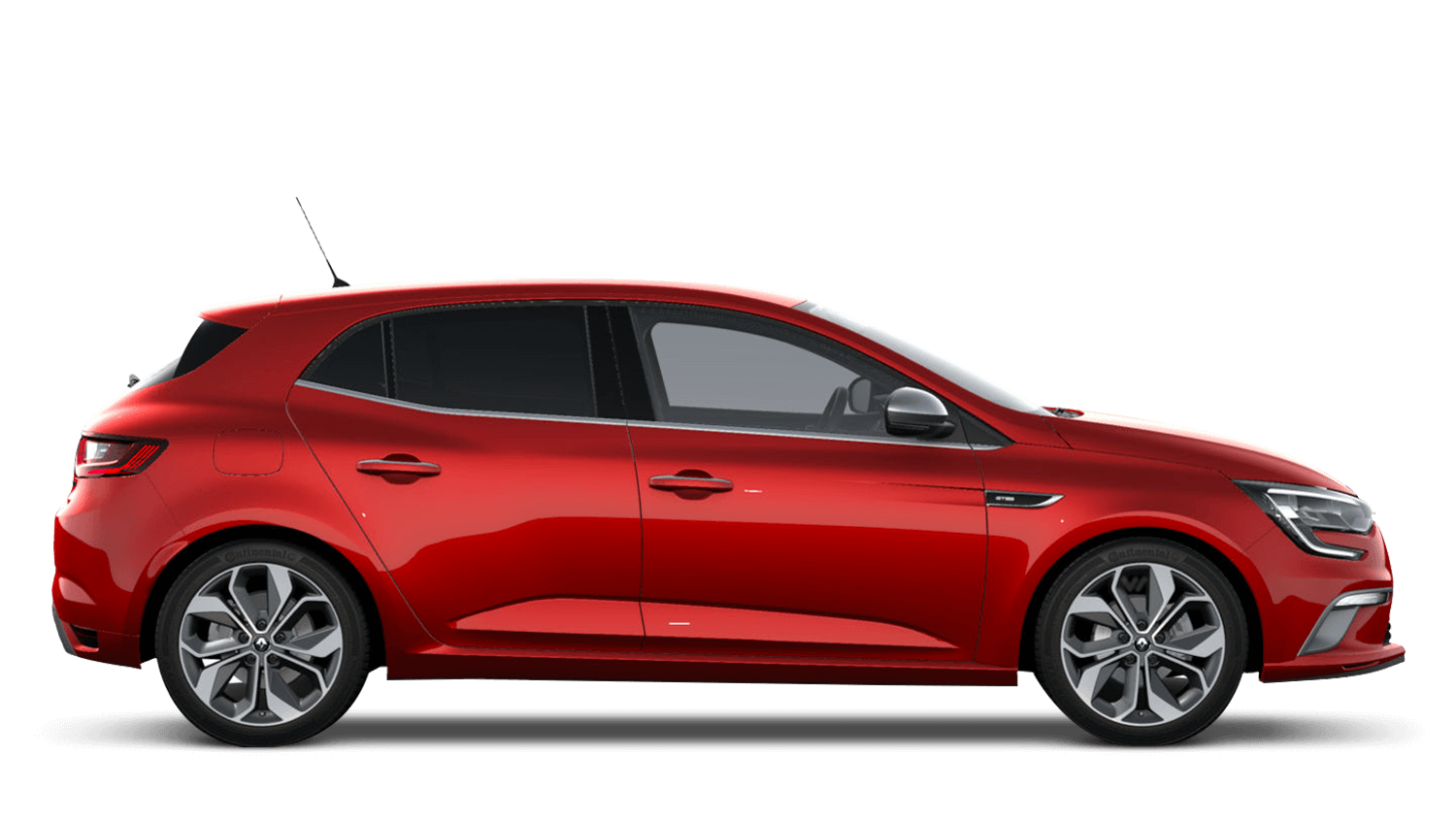 Flame Red New Renault MEGANE