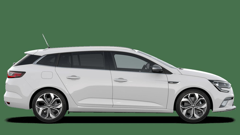 Glacier White Renault MEGANE Sports Tourer