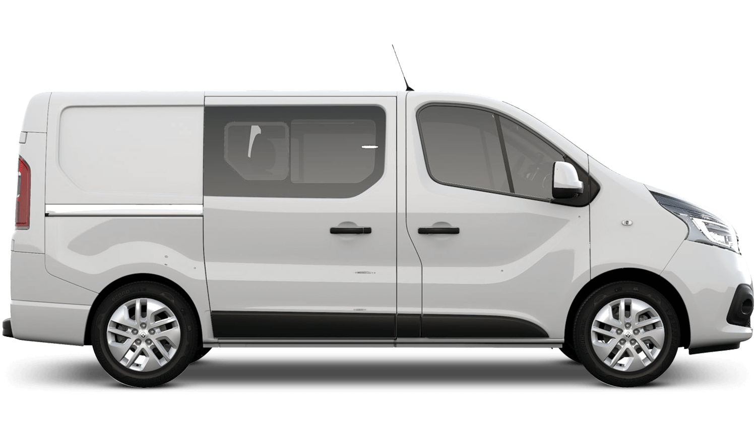Glacier White (Metallic) New Renault TRAFIC