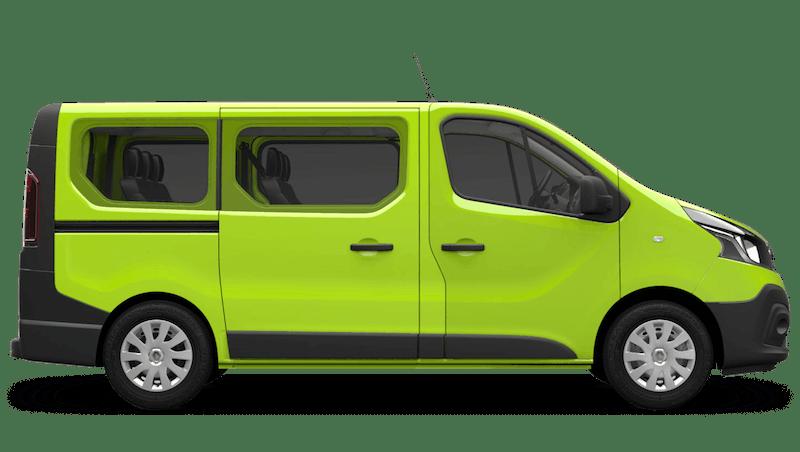 Bamboo Green Renault Trafic Passenger