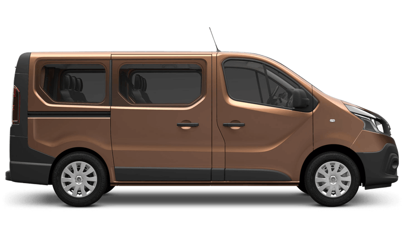 Copper Brown Renault Trafic Passenger