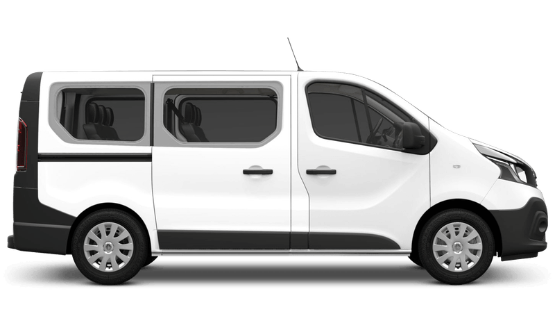 Glacier White Renault Trafic Passenger