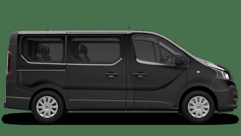 Jet Black Renault Trafic Passenger