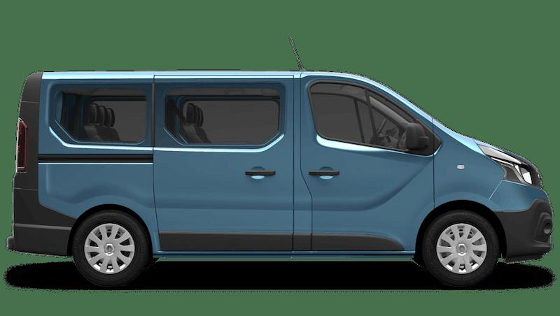 Panorama Blue Renault Trafic Passenger