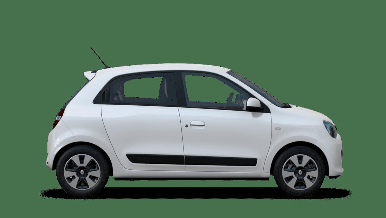 Crystal White Renault Twingo
