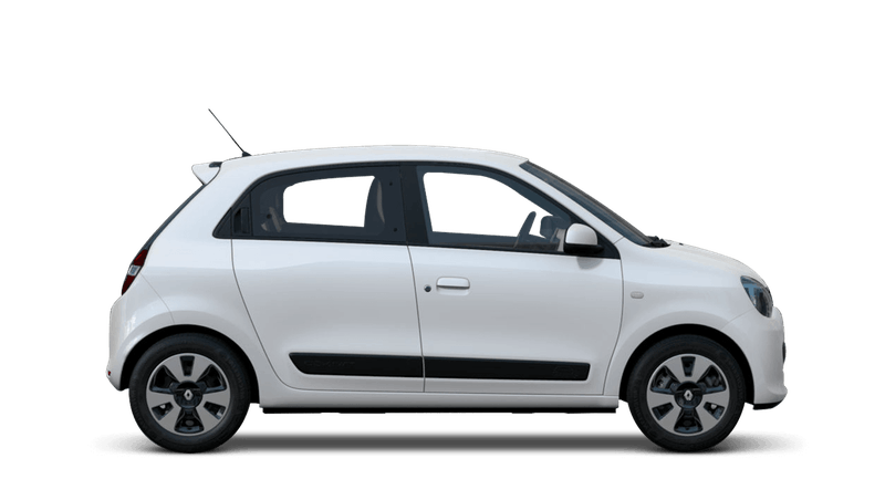 Crystal White Renault Twingo