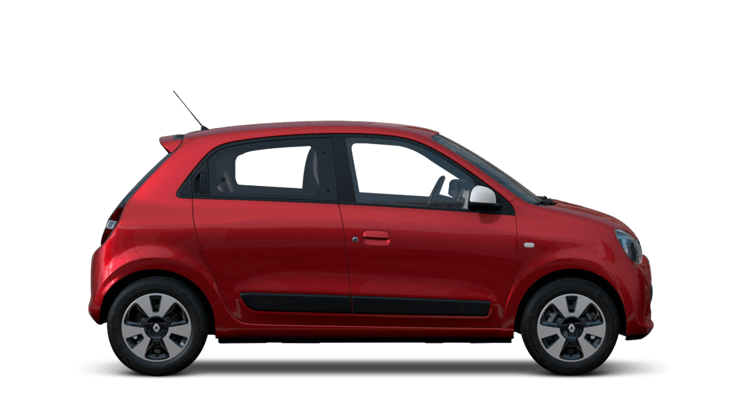 Flame Red Renault Twingo