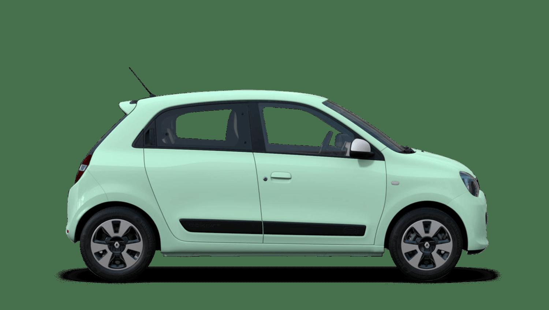 Mint Green Renault Twingo