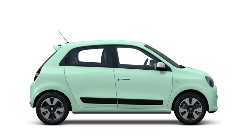 Mint Green Renault Twingo