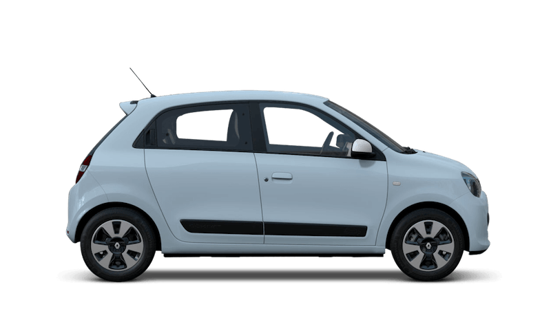 Powder Blue Renault Twingo