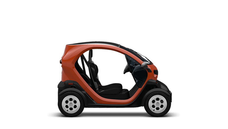Flame Orange Renault Twizy