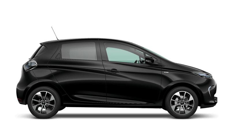 Diamond Black Renault Zoe
